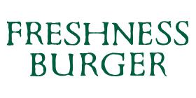 FRESHNESS BURGERのロゴ画像