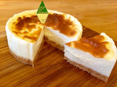 北海道ミルクチーズケーキ③