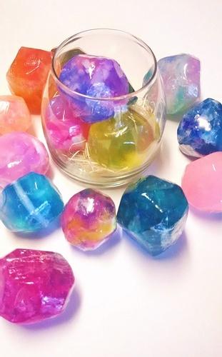 【夏休み子供】1日講座 キラキラ宝石石けん作り