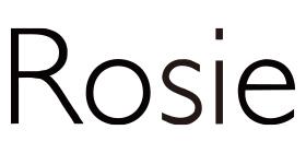 Rosieのロゴ画像