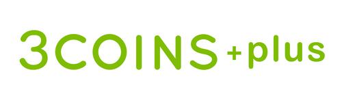 3COINS+plusロゴ